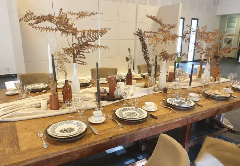 Visitez l'exposition « Table de Noël  » Loire & Sens