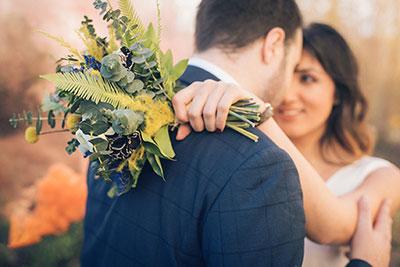ambiance blanc doré mariage