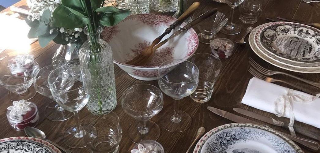 table dréssée