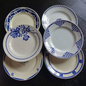 Location vaisselle Saumur - assiette champêtre