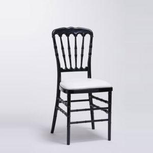 chaise napoléon noire