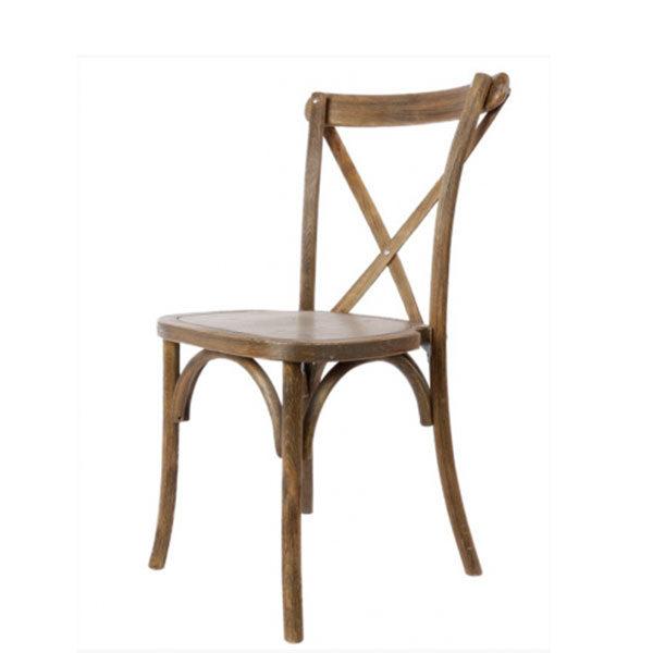 Chaise vintage bois