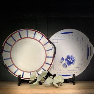 Location vaisselle Saumur - plat dessert champêtre
