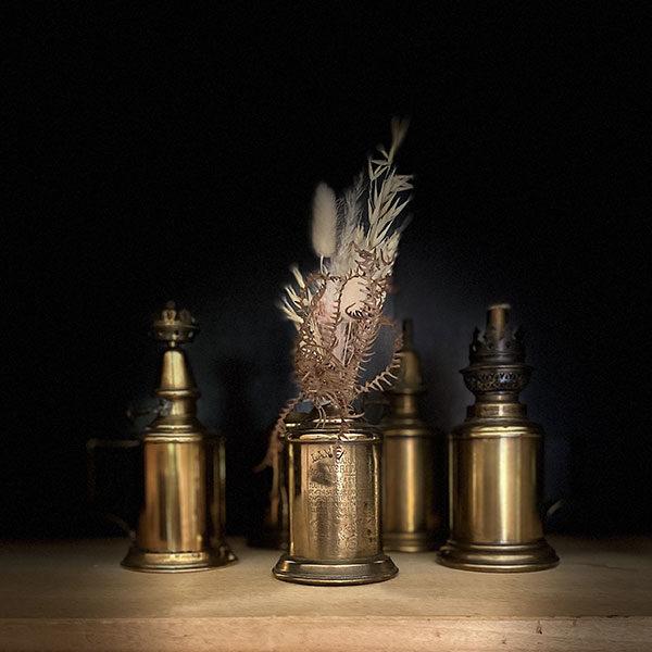 Lampe pigeon huile