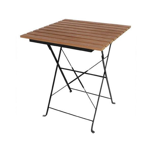 Table bistro bois