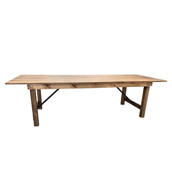 Table champêtre bois