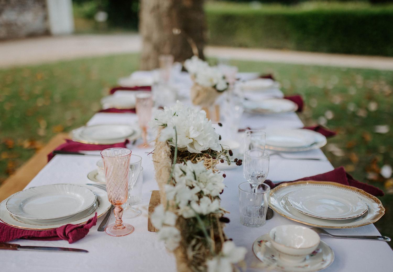 Louer de la jolie vaisselle pour son mariage